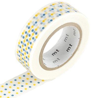 MT masking tape marble yellow