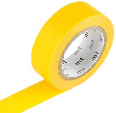 MT masking tape geel