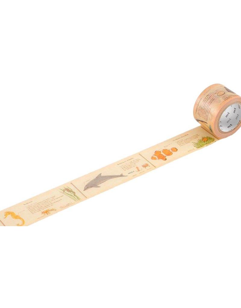 MT masking tape ex encyclopedia marine creature