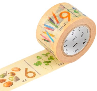 MT masking tape ex Number