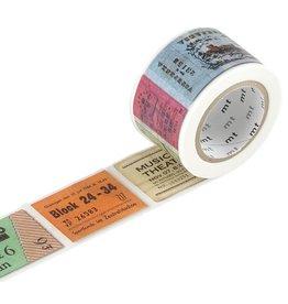 MT  MT masking tape ex ticket
