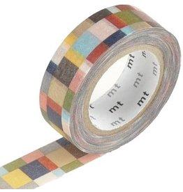 MT  MT masking tape mosaic greyish
