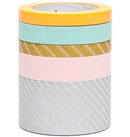 MT  MT masking tape 5 pack suite O