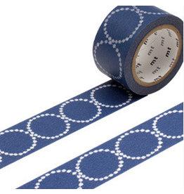 MT  MT masking tape ex tambourine blauw