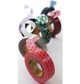 MT masking tape slash red