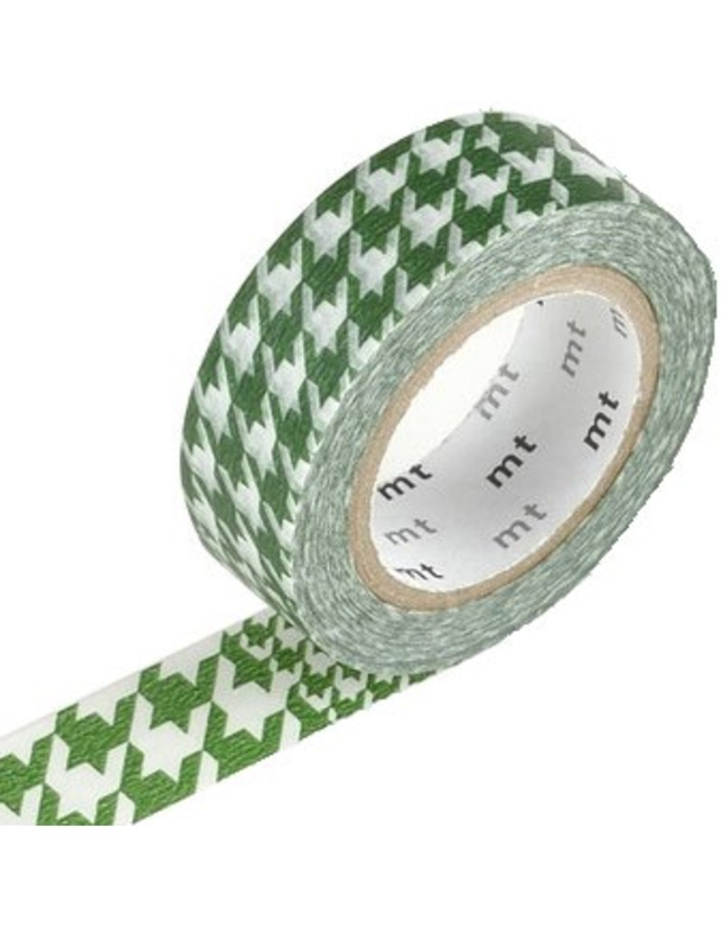 MT masking tape chidori green