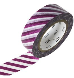 MT  MT masking tape stripe purple