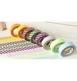 MT masking tape stripe purple