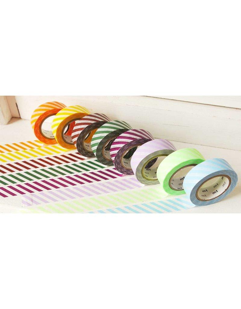 MT masking tape stripe orange