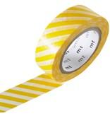 MT masking tape stripe yellow