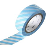 MT masking tape stripe baby blue
