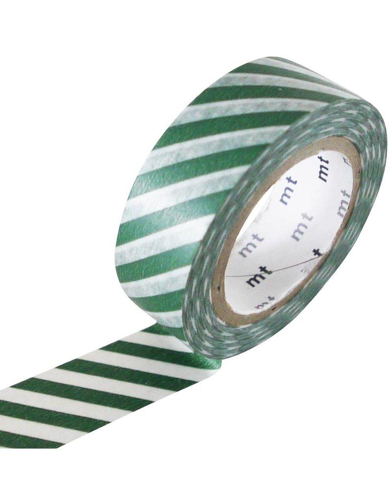 MT masking tape stripe cobalt green