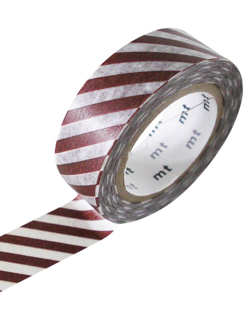 MT masking tape stripe cafe au lait