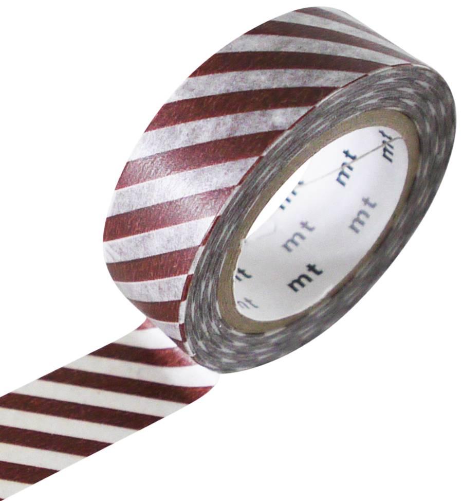 MT masking tape stripe cafe au lait