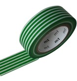 MT masking tape border evergreen