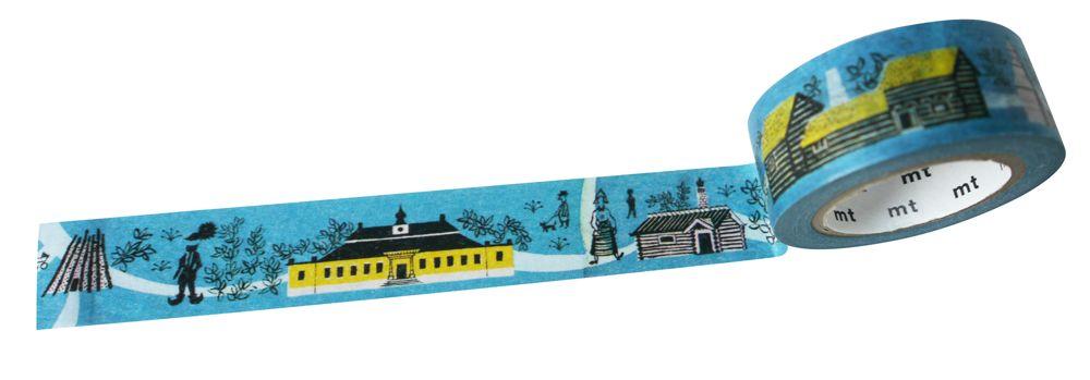 MT masking tape Skansen houses