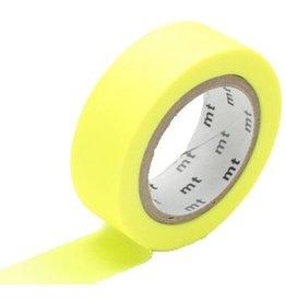 MT  MT masking tape shocking yellow
