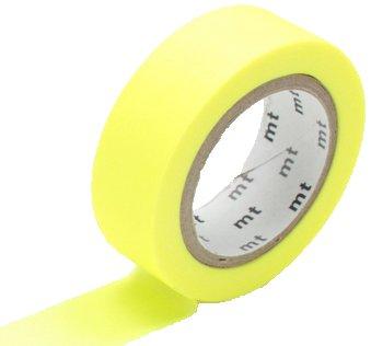 MT masking tape shocking yellow