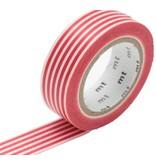 MT masking tape border red
