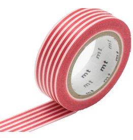 MT  MT masking tape border red