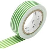 MT masking tape border light green