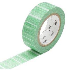 MT  MT masking tape script border green