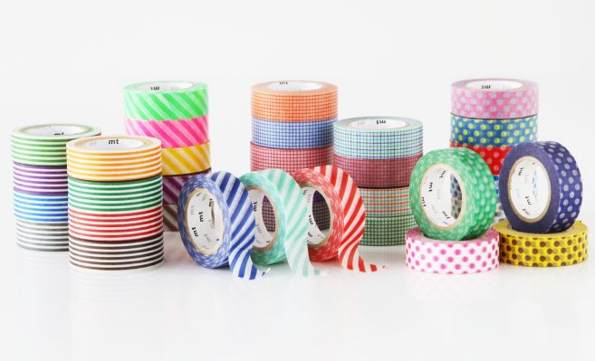 MT masking tape stripe mint