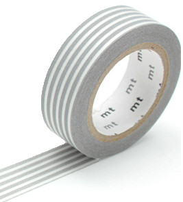 MT masking tape border gray
