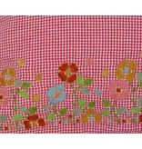 Kussenhoes bloemengoud