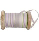 30 meter band pippi lilla op houten klos