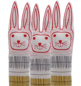 Jane Foster Large rabbit stripe