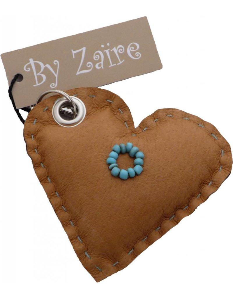 Sleutelhanger hart By Zaïre