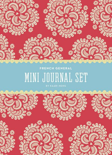 Mini journal set French general