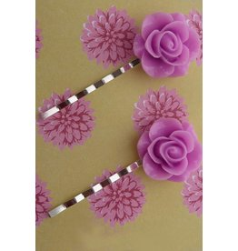 Zilte atelier Hairpins pink roses