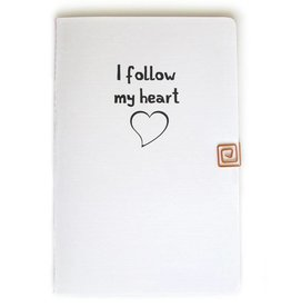 Gadanke {I follow my heart} scrapbook voor persoonlijk inzicht