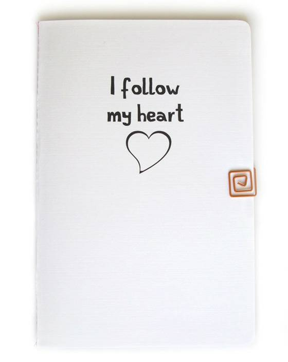 {I follow my heart} scrapbook voor persoonlijk inzicht