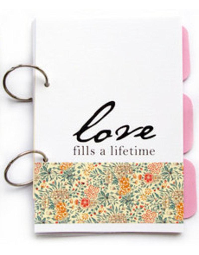 {Love fills a Lifetime} – pink garden