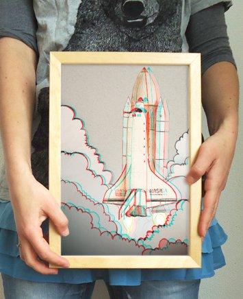 3D print spaceshuttle