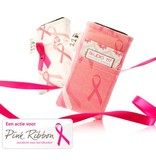 iPhone hoesje pink ribbon
