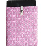 iPad sleeve blooming pink