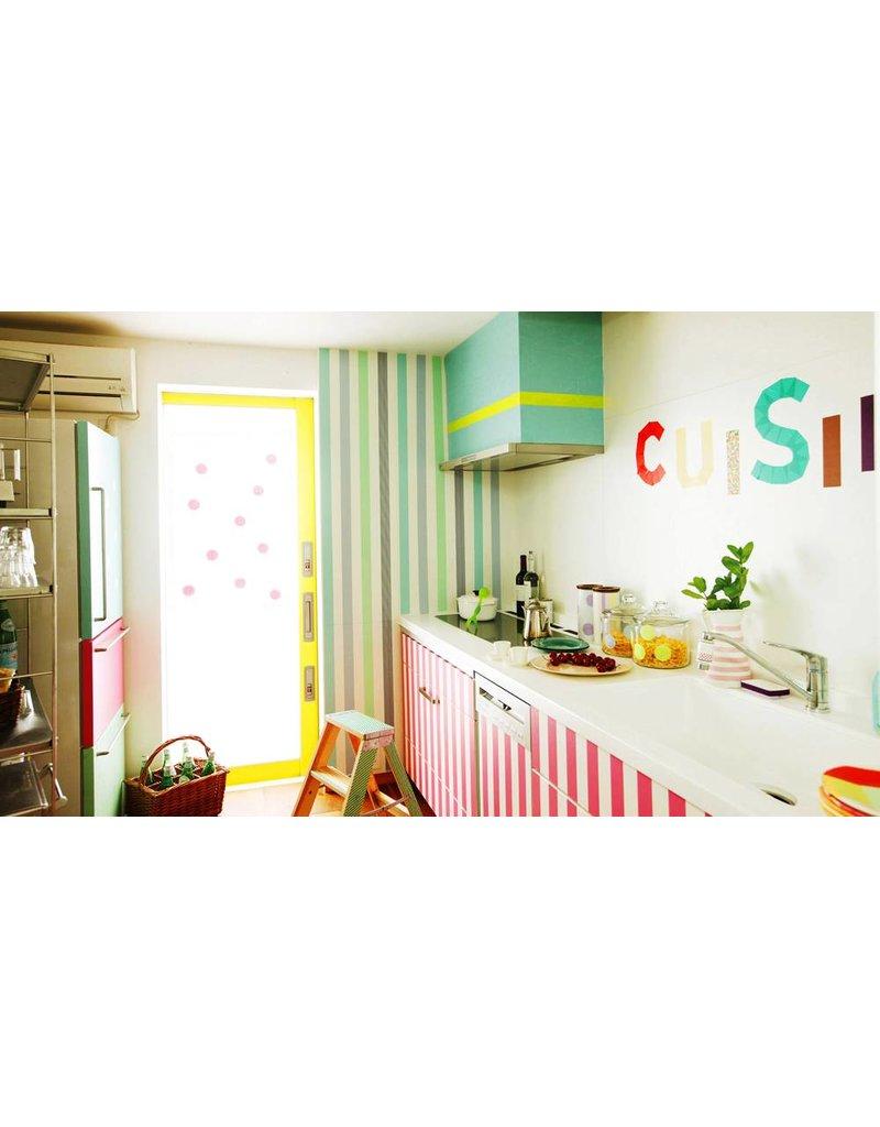 MT casa stripe green 50 mm