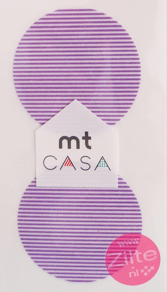 MT casa Seal border purple