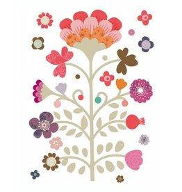 Muursticker bloemenboom
