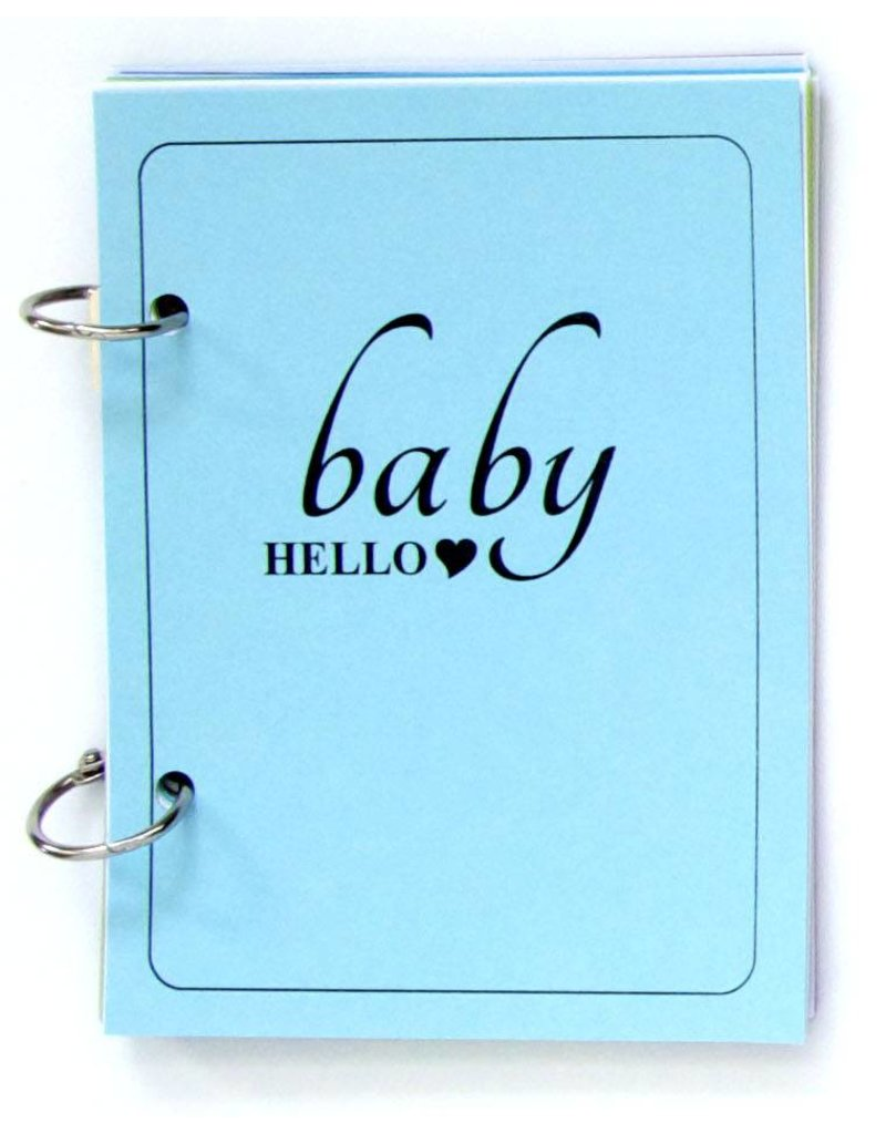 {Baby hello} - brag book blue