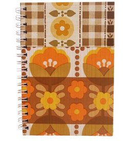 Huisteil creaties Notebook retro bloom