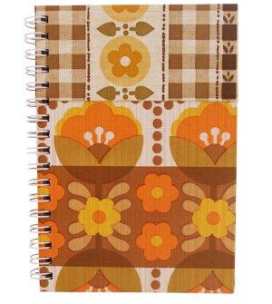 Notebook retro bloom