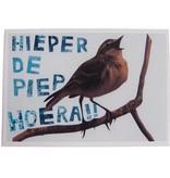 Hieper de piep vogel