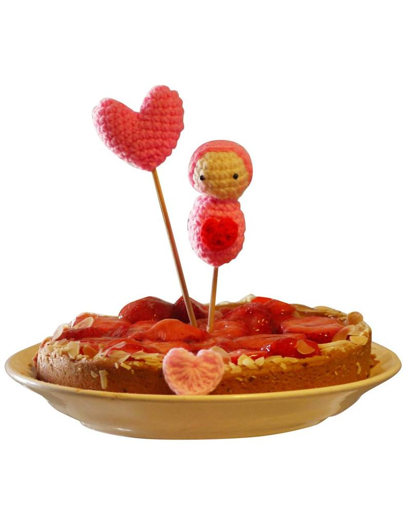 Cake toppers heart