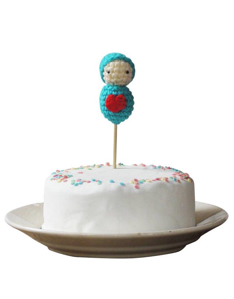 Cake topper babyboy