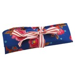 Pencil roll blue